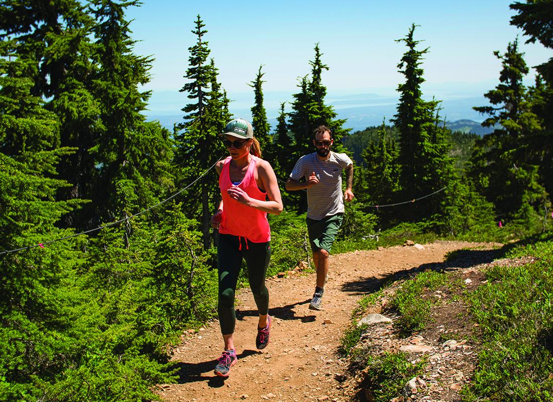 Mount Washington Trail Running